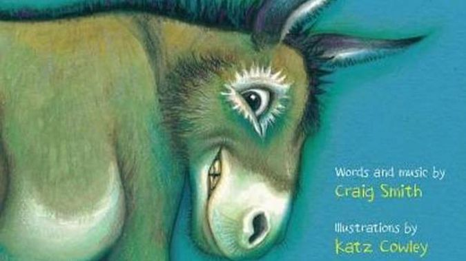 "Kiwi icon ""The Wonky Donkey"" is now a global bestseller also thanks to a Scottish granny. (Photo / Scholastic)"