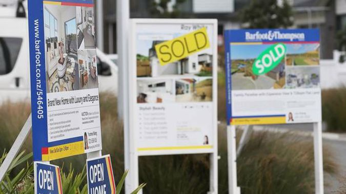 There has been a year-on-year lift in Auckland's median house price for the first time in six months. Photo/File.