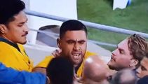 Fans clash with Wallabies stars in ugly post-match tussle