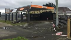 The fight is said to have happened outside Big Barrel Liquor on High St. (Photo: NZ Herald)