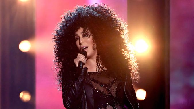 Superstar singer Cher has arrived in New Zealand ahead of her concert. (Photo: Getty)