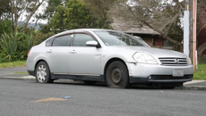Tyre slasher targets Auckland street
