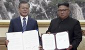 The leaders of North and South Korea held another summit today. (Photo / AP)