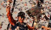 Scott Dixon is the second of the leader board for most wins. (Photo / Getty)