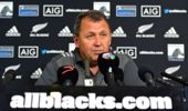 The All Blacks face away matches in Argentina and South Africa in the next two weeks.