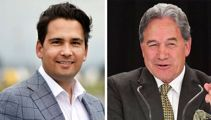 Winston Peters mocks Simon Bridges over 'meth crooks' comments