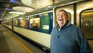 Merv Smith was the original radio host on 1ZB. (Photo / NZ Herald)