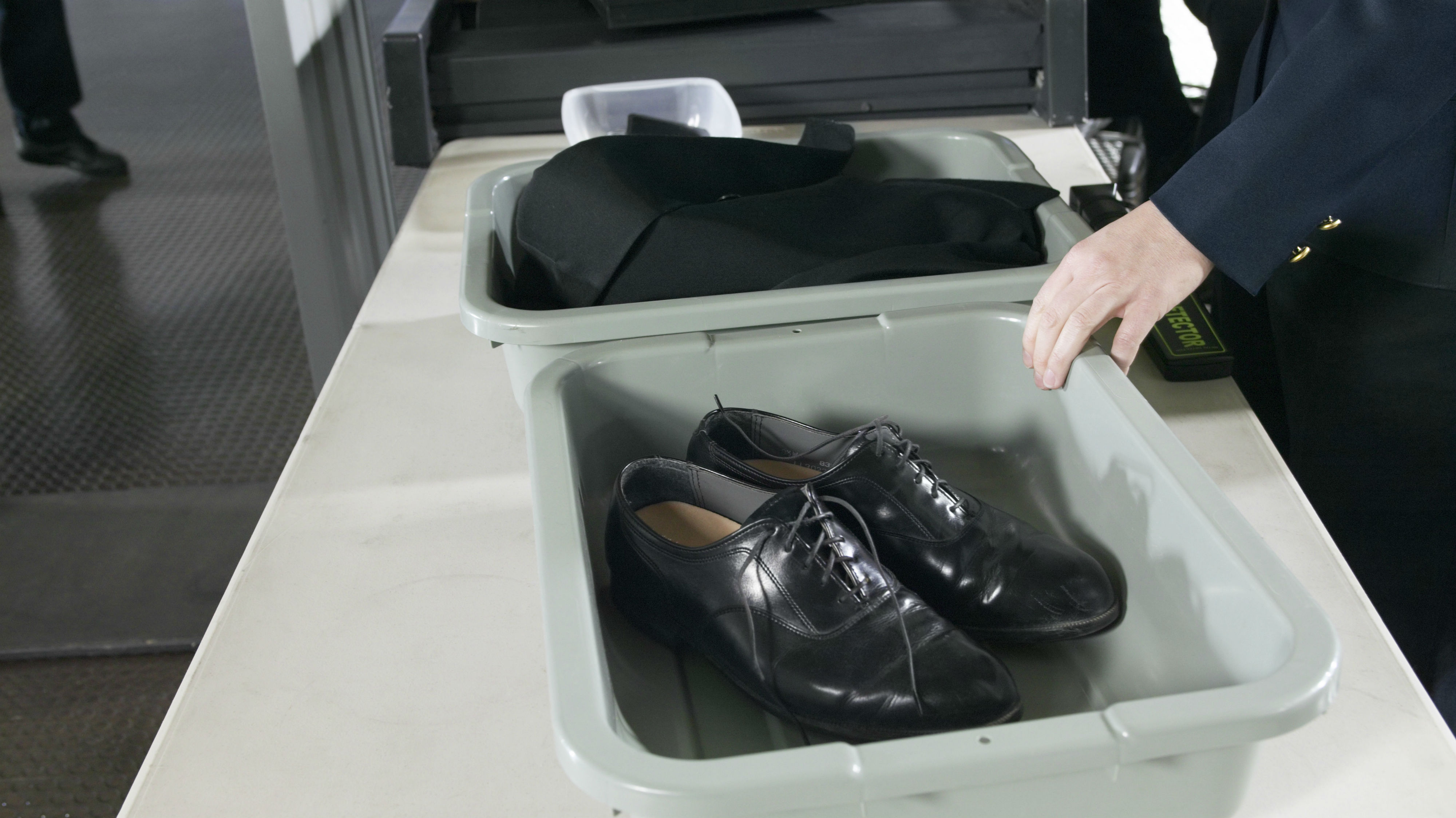 Security checks are made upon security checks, it's as if the first scanner was inadequate. Photo / Getty Images