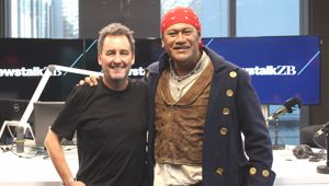 Jay Laga'aia speaks with Mike Hosking.