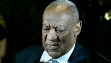 Mike Sisak: Bill Cosby 'smiling and laughing' during trial