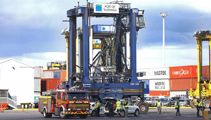 Port worker rescued after suspected chemical leak in Tauranga
