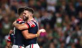 James Tedesco of the Roosters. Photo / Getty Images