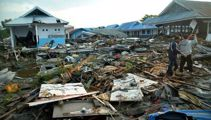 Death toll climbs: Indonesia devastated by natural disaster