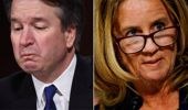 Christine Ford and  Judge Kavanaugh.