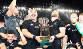 The All Blacks came within a few minutes of losing once again to the Springboks. (Photo / NZ Herald)