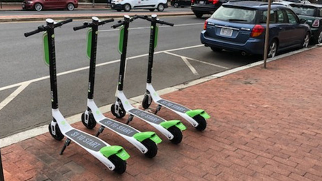 Cool New Stuff: Lime electric scooters