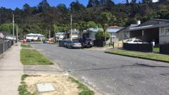 Residents of Hanson Grove in Stokes Valley say a large brawl broke out in the street before a drive-by shooting in the early hours of Sunday morning. (Photo / Melissa Nightingale)