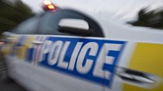 Helicopter at scene of serious crash in Canterbury