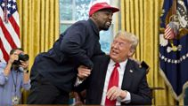 Kayne West meets with President Trump in the Oval Office