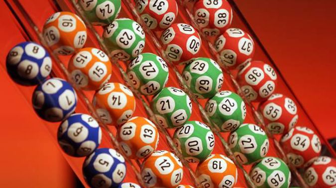 The woman won $333,333 with Lotto First Division several months ago. Photo / Michael Bradley
