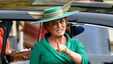 Sarah Ferguson throws shade at royal couple