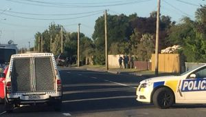 Armed standoff unfolding in Christchurch