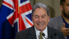 Winston Peters' hilarious take on National's drama
