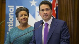 National Deputy leader Paula Bennett and National leader Simon Bridges.