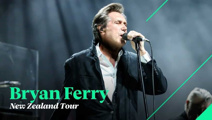 Bryan Ferry's NZ tour March 2019 plus special guest to be announced