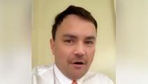 Parody video shows 'Simon Bridges' slamming Jami-Lee Ross