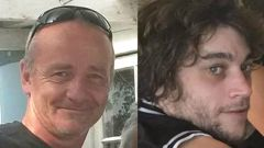 Raymond Fleet, left, and James Fleet died after suffering brutal injuries in a spade attack. (Photo / File)