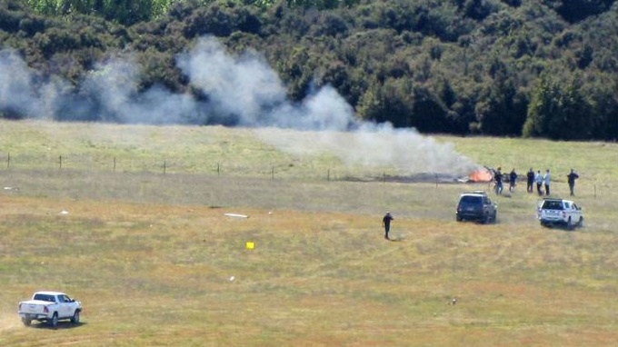 'There's nothing left of it': Fatal crash near Wanaka Airport