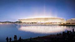 Stadium in the sea: $1.8 billion waterfront stadium unveiled