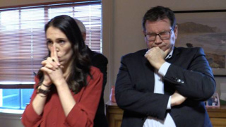 Never-before seen photos of PM on Coalition night released