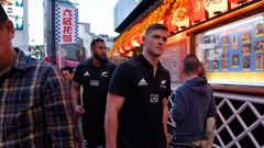 The value of the next fortnight is getting Dalton Papalii and Patrick Tuipulotu and their team-mates used to being in the alien environment of Japan. Photo / Getty Images