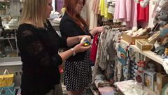 Commerce Commission staff carry out an unannounced visit to a Christchurch retailer. Photo / Supplied