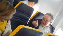 Ryanair under fire over abusive passenger