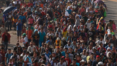 'Ragtag army of the poor' marches towards US