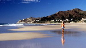 Wainui Beach and the sunshine are two reasons to visit Gisborne, according to one local. (Photo / Getty)