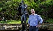 Kiwi artist exhibiting at Sculpture by the Sea