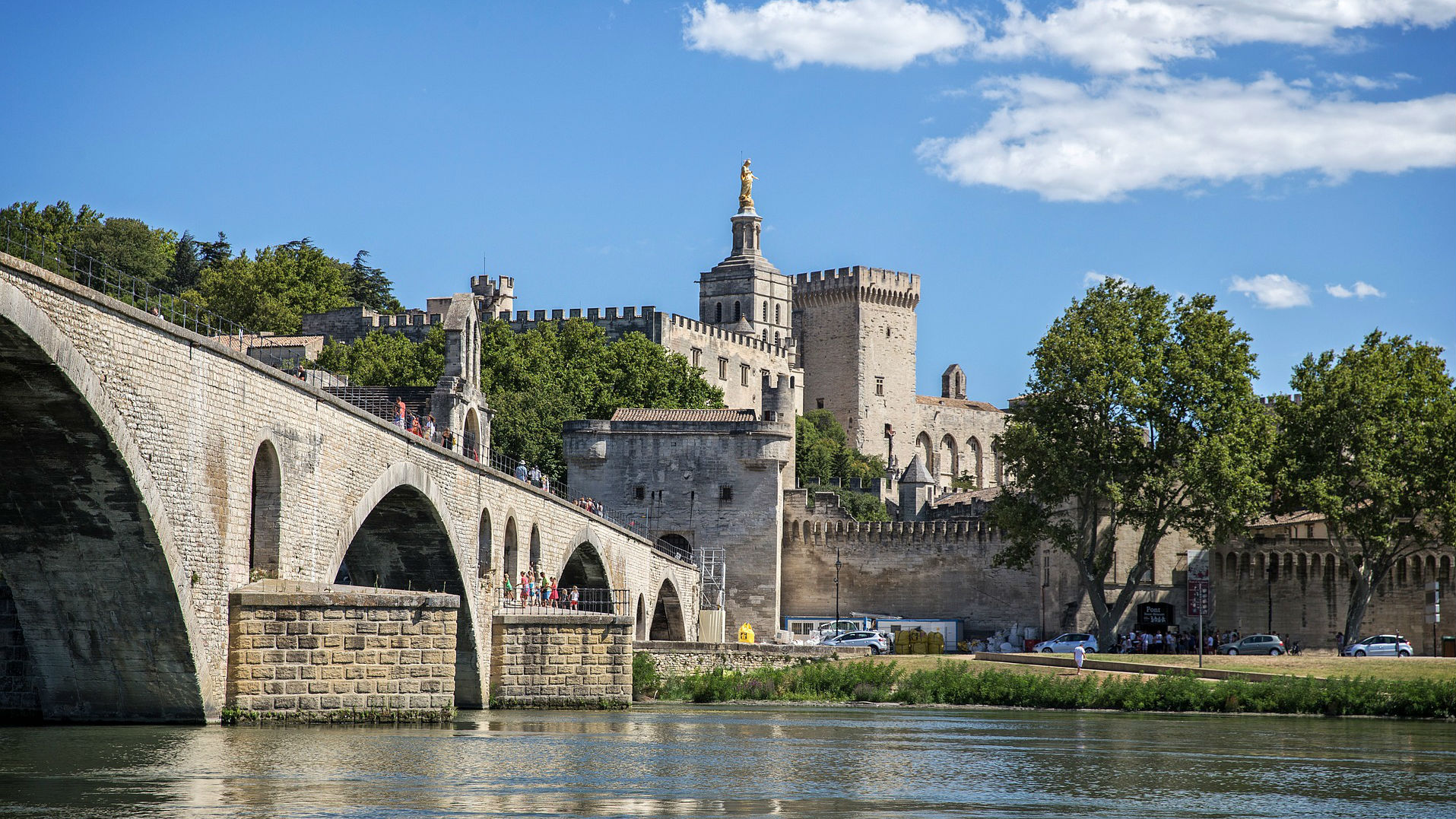 Avignon's turn as the papal seat of power has bestowed the city with a trove of stirring art and architecture.