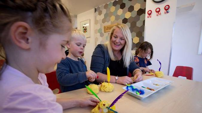 Katy Brown, centre manager at The Learning Corner in Ellerslie, says her qualified teachers earn between $24 and $28 an hour, and she is being forced to pay more. Photo / Dean Purcell