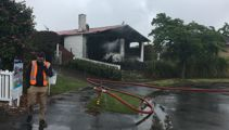Avonhead house damaged by 'unusual' fire