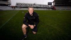 Eden Park turf manager Blair Christiansen says the turf is coming to the end of its useful life. Photo / Dean Purcell