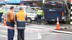 Footage shows moment bus crashed into Auckland store