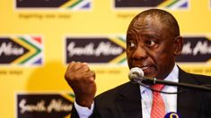 South Africa leaving 'dark days' of corruption, says leader