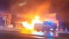 Massive fire breaks out on Sydney Harbour Bridge