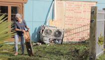 'Bad karma': SUV smashes into Auckland Buddhist Centre