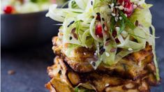 Mike van de Elzen: Smoked trevally pikelets with salad