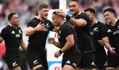 The All Blacks have taken Japan 31-69 in a sensational game of Rugby. (Photo / NZ Herald)